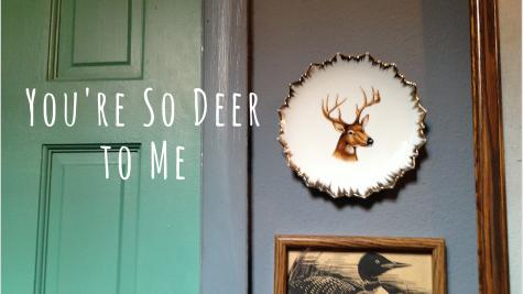 Deer plate (2)
